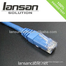 UL listé cat 6 cable cat6 rj45 patch cable 568b / 568a OEM disponible